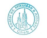 Turistické razítko - Kostel sv. Mikuláše a Alžběry Cheb