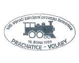 Turistická razítka - 100 let trati Prachatice-Volary