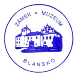Turistická razítka - Zámek - muzeum Blansko