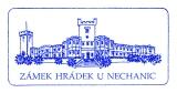Turistická razítka - Zámek Hrádek u Nechanic