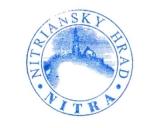Turistická razítka - Nitriansky hrad - Nitra (Slovensko)