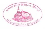 Turistická razítka - Zámek Nové Město nad Metují