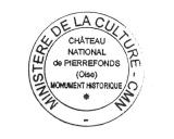 Turistická razítka - Zámek Pierrefonds (Francie)