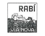 Turistická razítka - Hrad Rabí