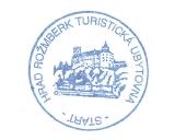 Turistická razítka - Hrad Rožmberk