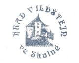 Turistická razítka - Hrad Vildštejn ve Skalné