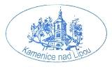 Turistická razítka - Zámek Kamenice nad Lipou