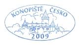 Turistická razítka - Konopiště - Česko