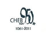 Turistická razítka - Cheb - 950 let