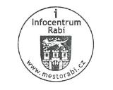 Turistická razítka - Infocentrum Rabí