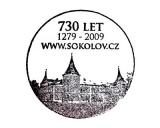 Turistická razítka - Sokolov - 730 let