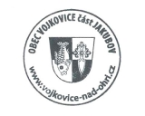 Turistická razítka - Obec Vojkovice