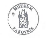 Turistická razítka - Muzeum Rakovník