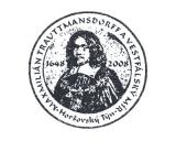Turistická razítka - Maxmilián Trauttmansdorff - Horšovský Týn