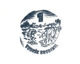 Turistická razítka - Vodník Brodimil 1
