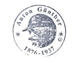 Turistická razítka - Anton Günther