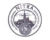 Turistická razítka - Nitra - 750. výročí udělení královských výsad (Slovensko)