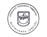 Turistická razítka - Bystrianska jaskyňa (Slovensko)