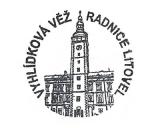 Turistická razítka - Vyhlídková věž radnice Litovel